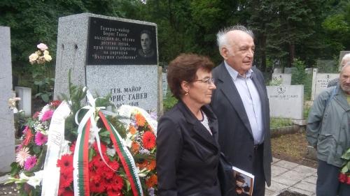 70 години от гибелта на генерал-майор Борис Ганев и бордния радист Недялко Недялков, загинали при първия терористичен акт в българската гражданска авиация