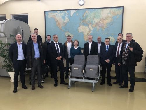 Sofia Flight Training прие Управителния съвет на Германо-българската индустриално-търговска камара